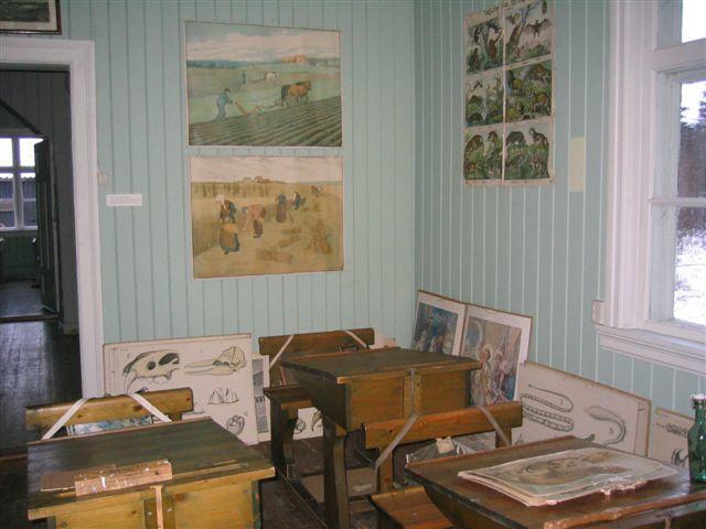 Interiør, klasserom