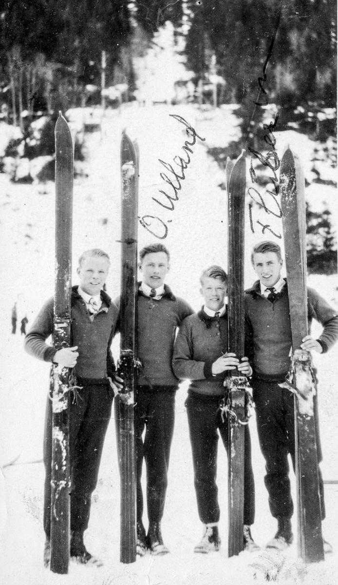 Olav Ulland i Kveitseid 1929