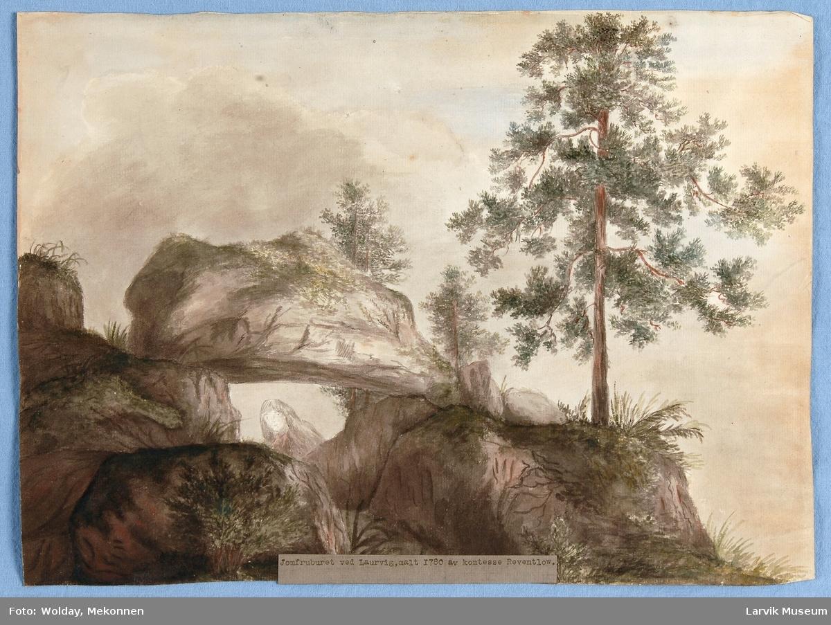 Jomfruburet ved Laurvig (Larvik)