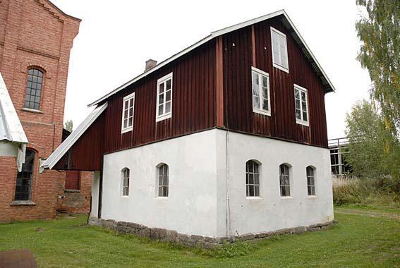The old workshop at Klevfos.
