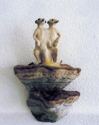 Antropomorfe oppstillinger (tvillinger el. sammen) [Skulptur