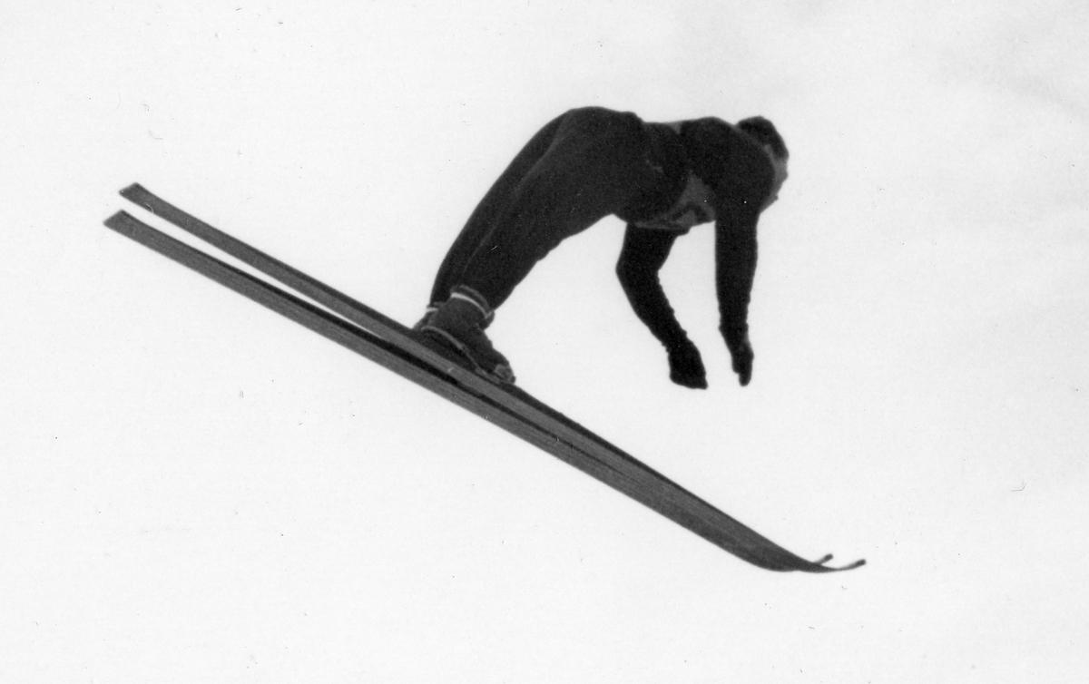 Nowegian athlete Birger Ruud in Garmisch-Partenkirchen 1936.
