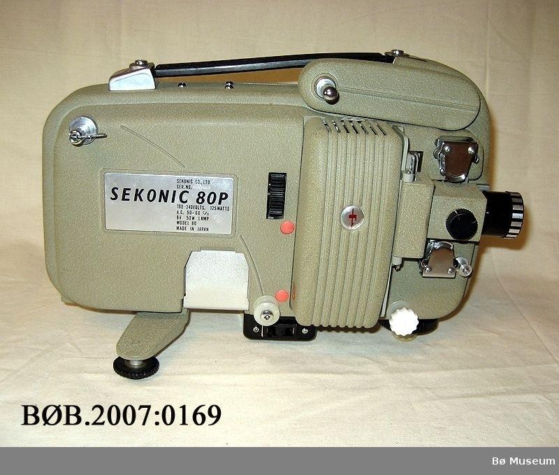 Filmframvisar i koffert