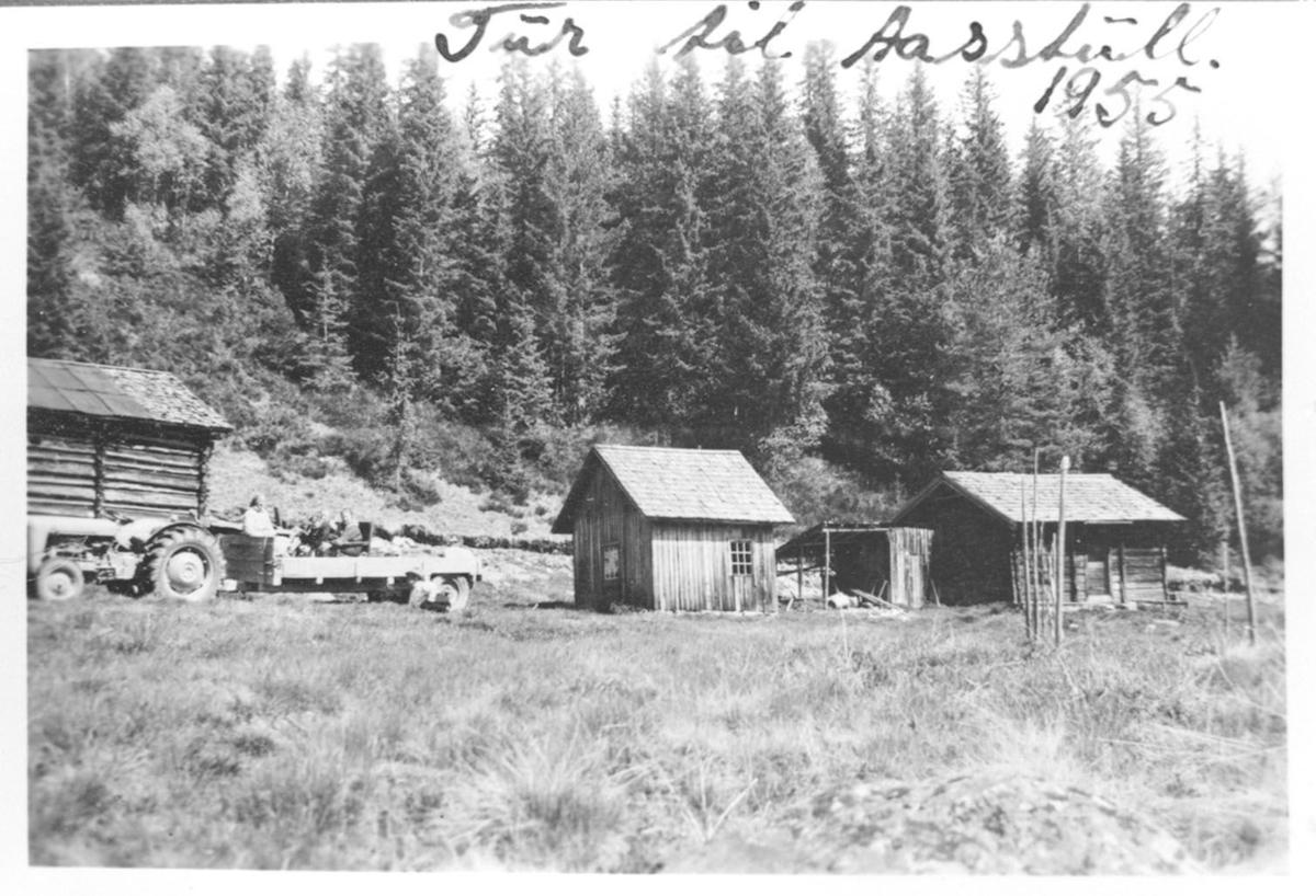 Åstul i Limarkja, Husmannsplass, Traktor
