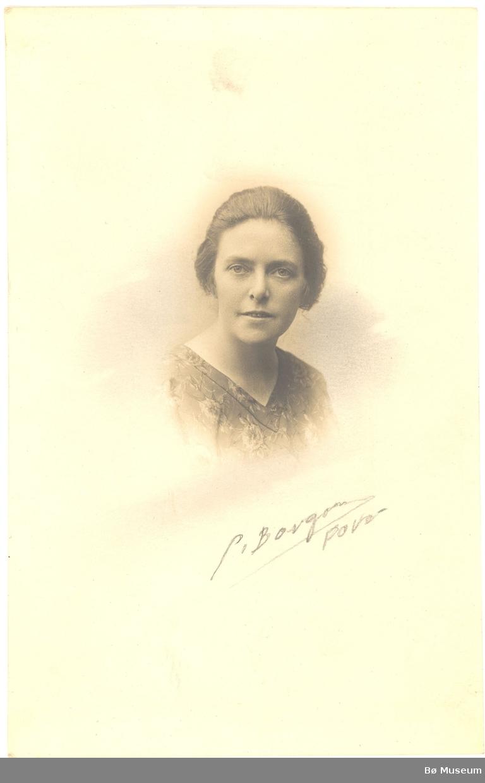 Kvinne, portrett