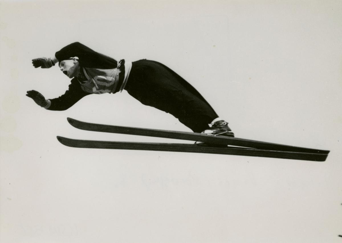 Norwegian skier Asbjørn Osnes at Unterwasser