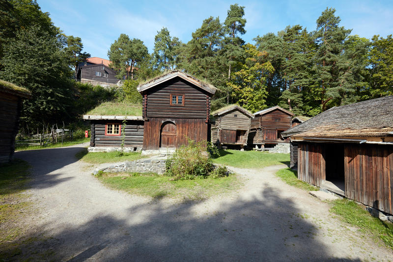 Østardalstunet på Norsk Folkemuseum (Foto/Photo)
