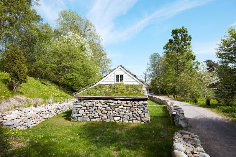 Ved Jærhuset på Norsk Folkemseum