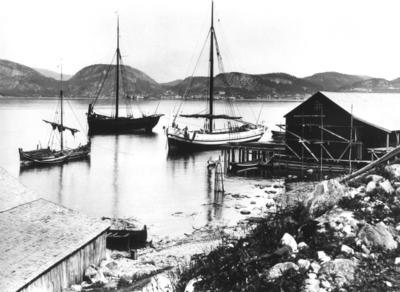 Sea House and boats. Namsos (Foto/Photo)