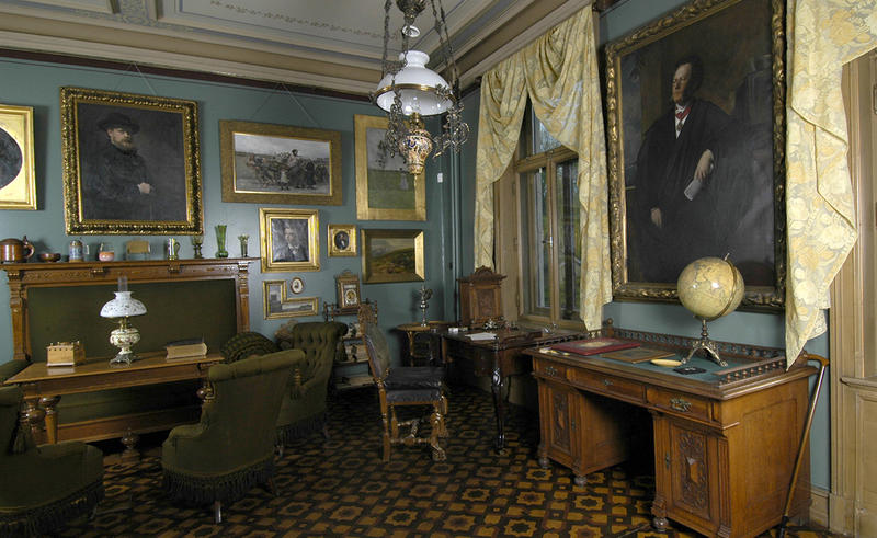 Ibsens arbeidsværelse