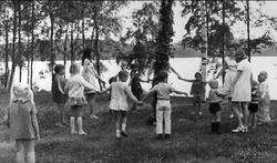 Mölltorps missionsförsamling, midsommarfest vid sommarhemmet