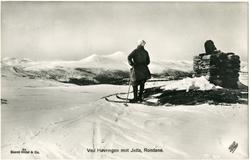 Ved Høvringen mot Jetta, Rondane.