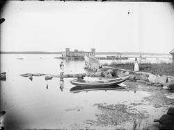 Kallbadhus, Östhammar, Uppland 1894