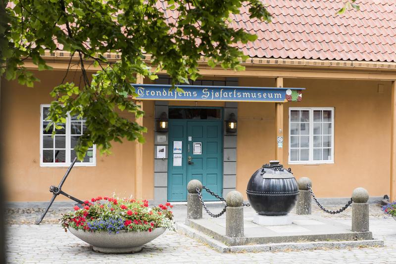 Inngang Trondhjems Sjøfartsmuseum