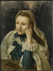 Okänd kvinna, möjligen Anna Charlotta Kruuse af Verchou (168