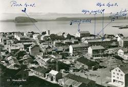 Telegrafbygninger eksteriør oversiktsbilde interiør skranke