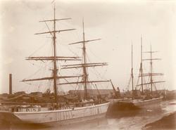 1) Gerda, 211 tonn, byggd Gefle 1869. 2) Lily av Oscarshamn