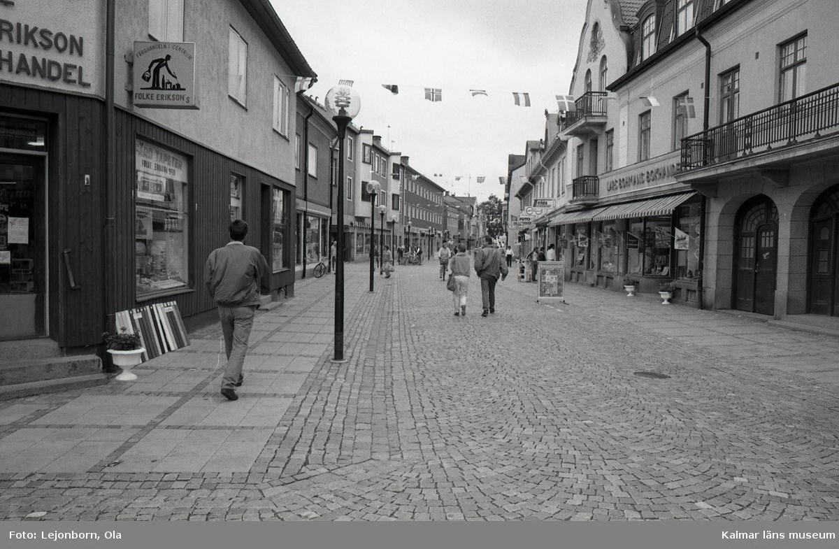 Storgatan i Nybro.