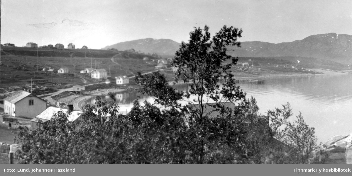 Utsikt fra doktorgården i Alta
