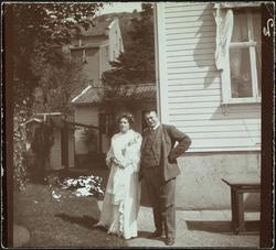 Olaf Hansson og Agnethe Schibsted-Hansson.