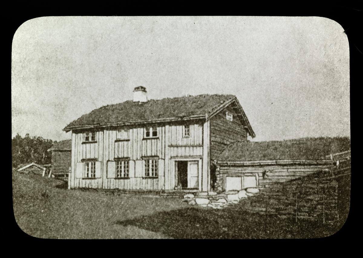 Bjørgan, hus,