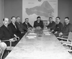 SMC:s styrelse 1964, gruppfoto. (Sundsvalls Mjölkcentral)