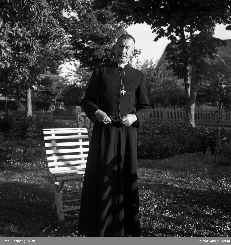 Bild föreställer prästen Gunnar Rosendahl.