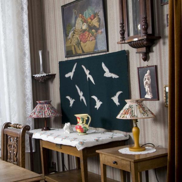 NF.32823-001. Gunda Eriksens hjem. Foto/Photo