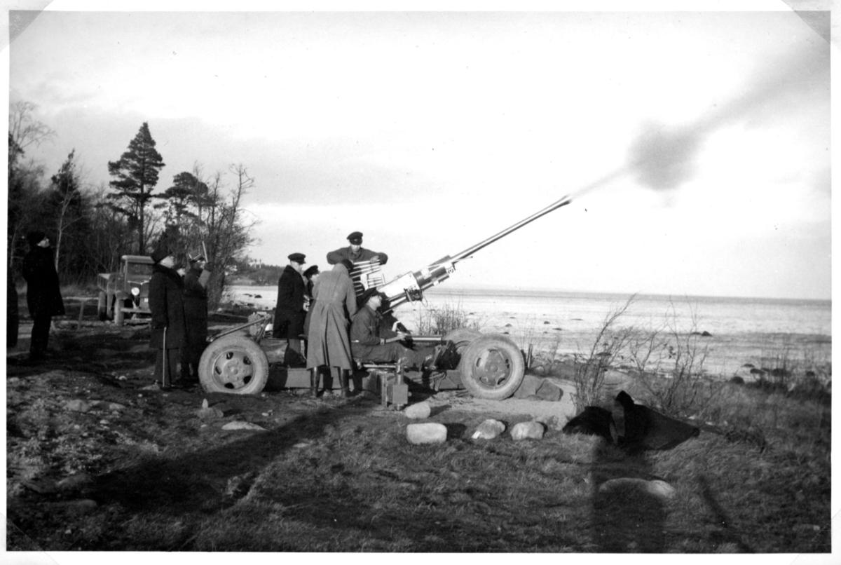 Luftvärnsautomatkanon m/1940, 20 mm. A 9, Karlsborg.