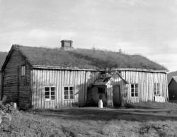 Gammelstova på Fostervoll, Osmarka. Nordsiden.  Se beskrivel