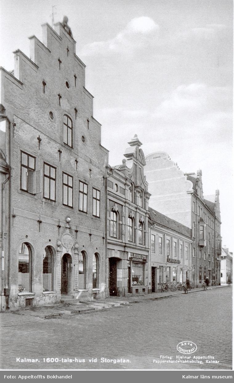 Cerstenska huset byggd 1667 på Storgatan i Kalmar.