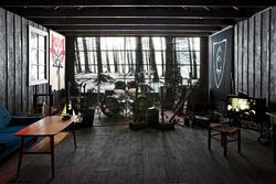 Hovedutstillingen: Black metal-rommet