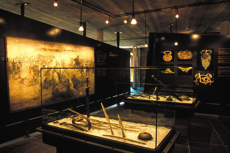 Swords, harness, boilers, jewellery and other exciting findings are on display in our museum. (Foto/Photo)