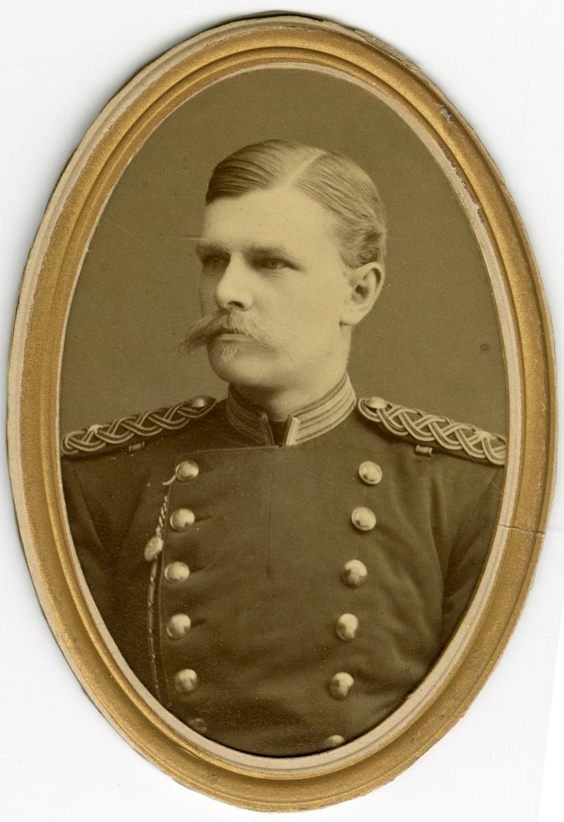 Porträtt av Claes Elias Rydström, löjtnant vid Jönköpings regemente I 12.