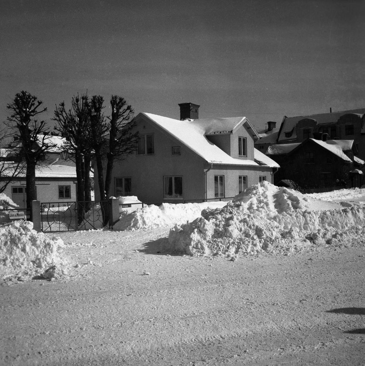 Villa på Karlagatan 34 år 1952.