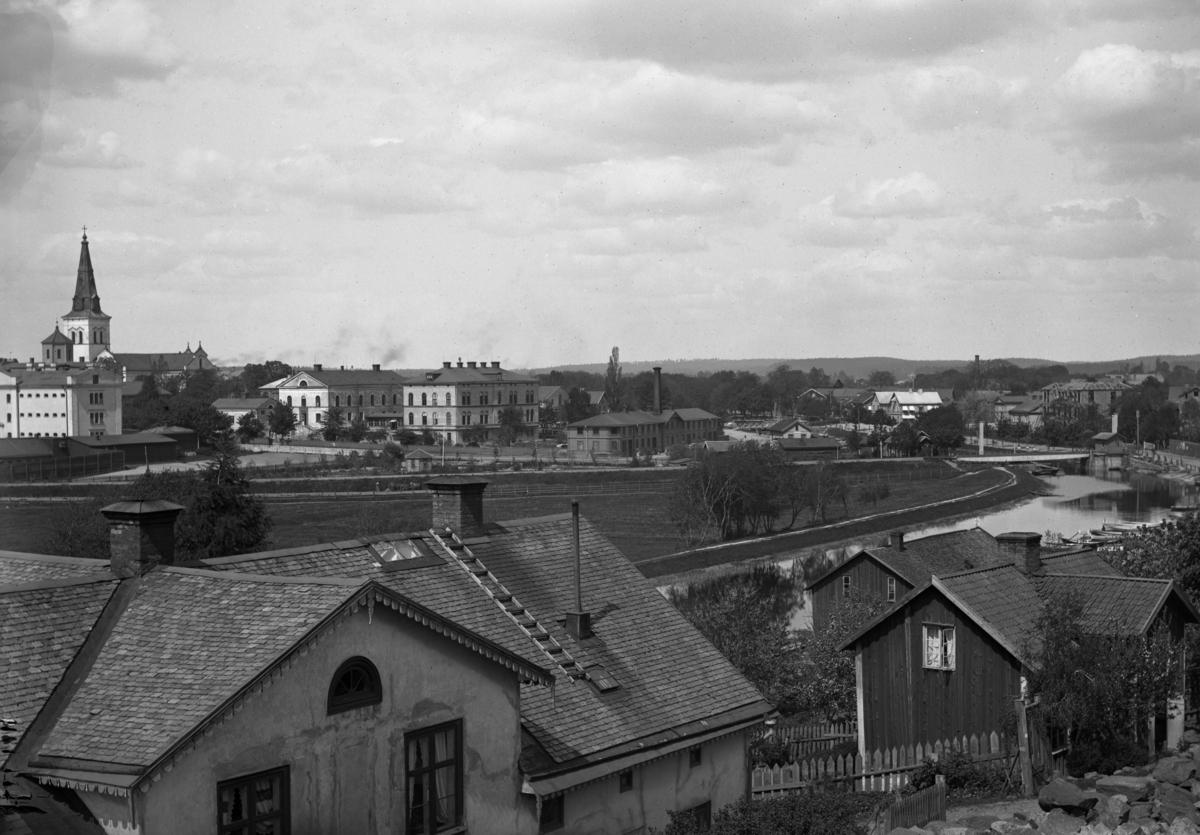 Utsikt från Herrhagen år 1895.