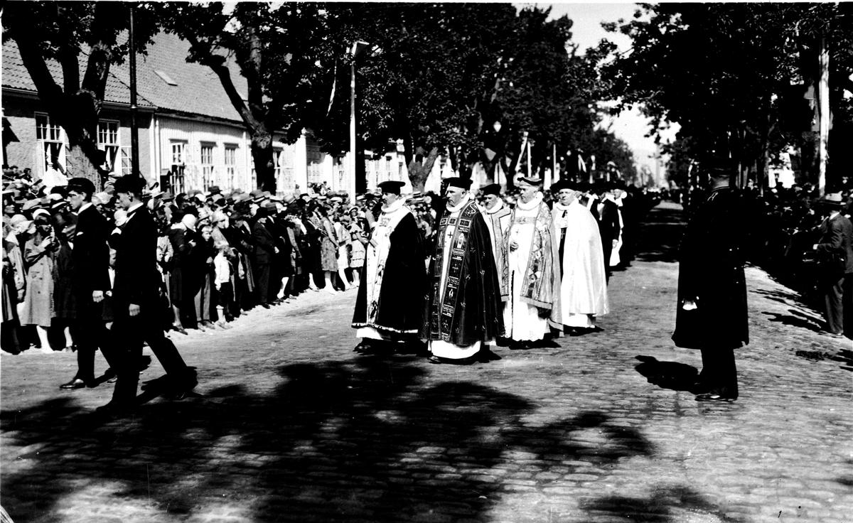 S:t Olovsjubileet i Trondheim 1930. Reproduktion av KJ Österberg.