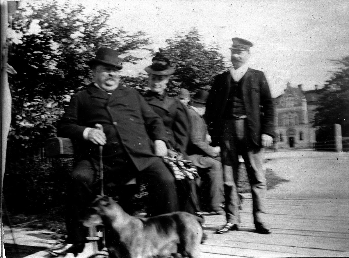 Farfarsfar. Fotograf Alfred Bergendahl. Givare H Bergendahl.