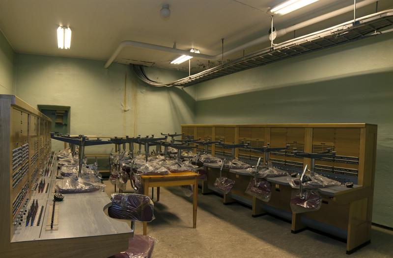 Telefonsentraler. Nødsentralen Åsen, interiør 5 (Foto/Photo)
