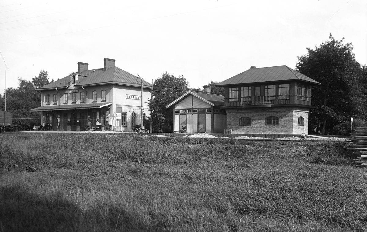 Torsåkers station i sommartid