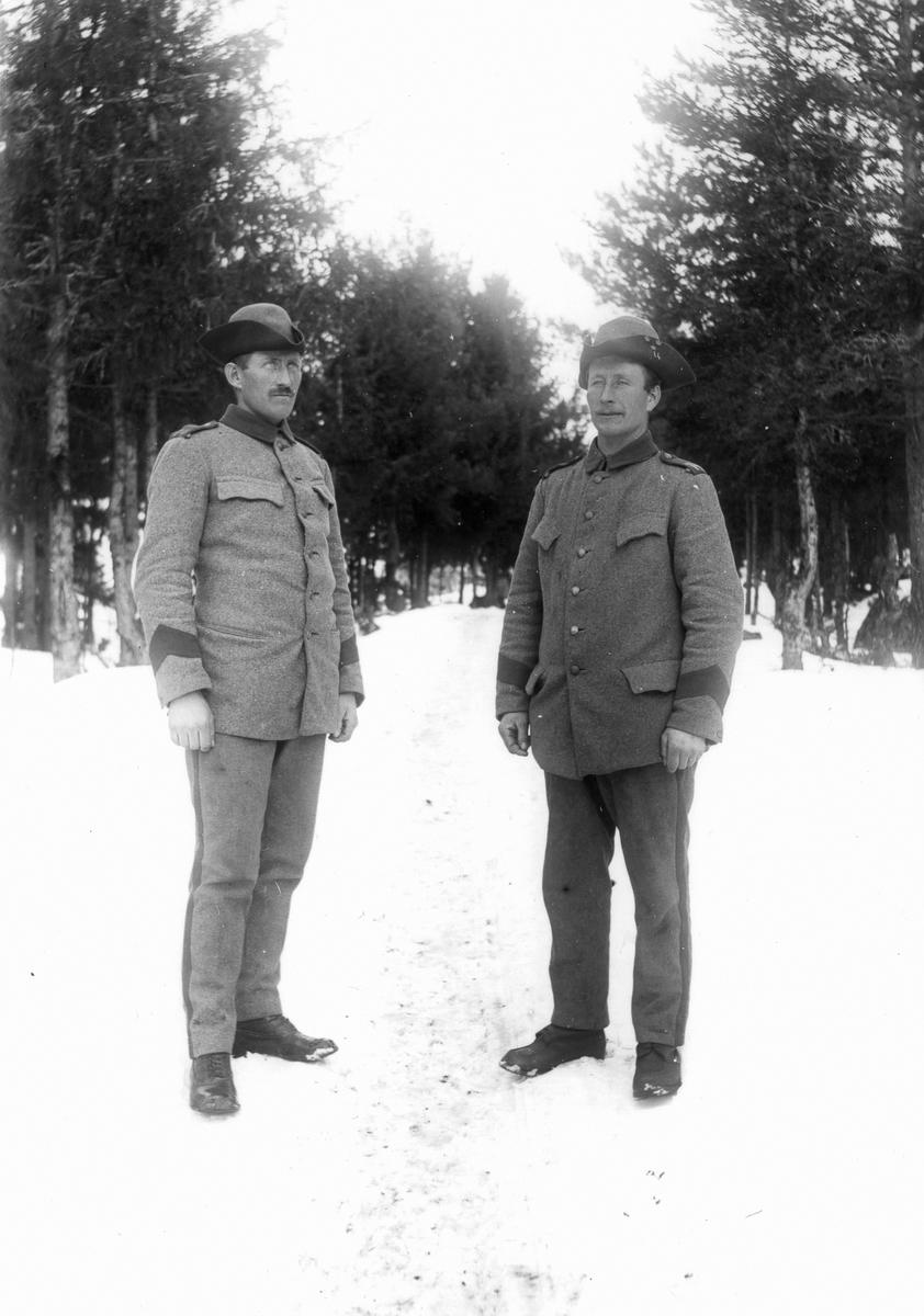 Okända beväringar under första världskriget.