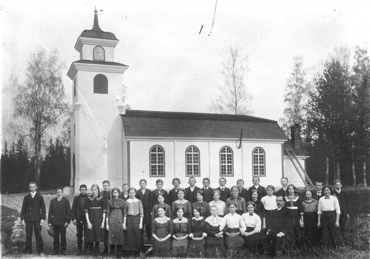 Annefors kapell den 5 okt 1914.