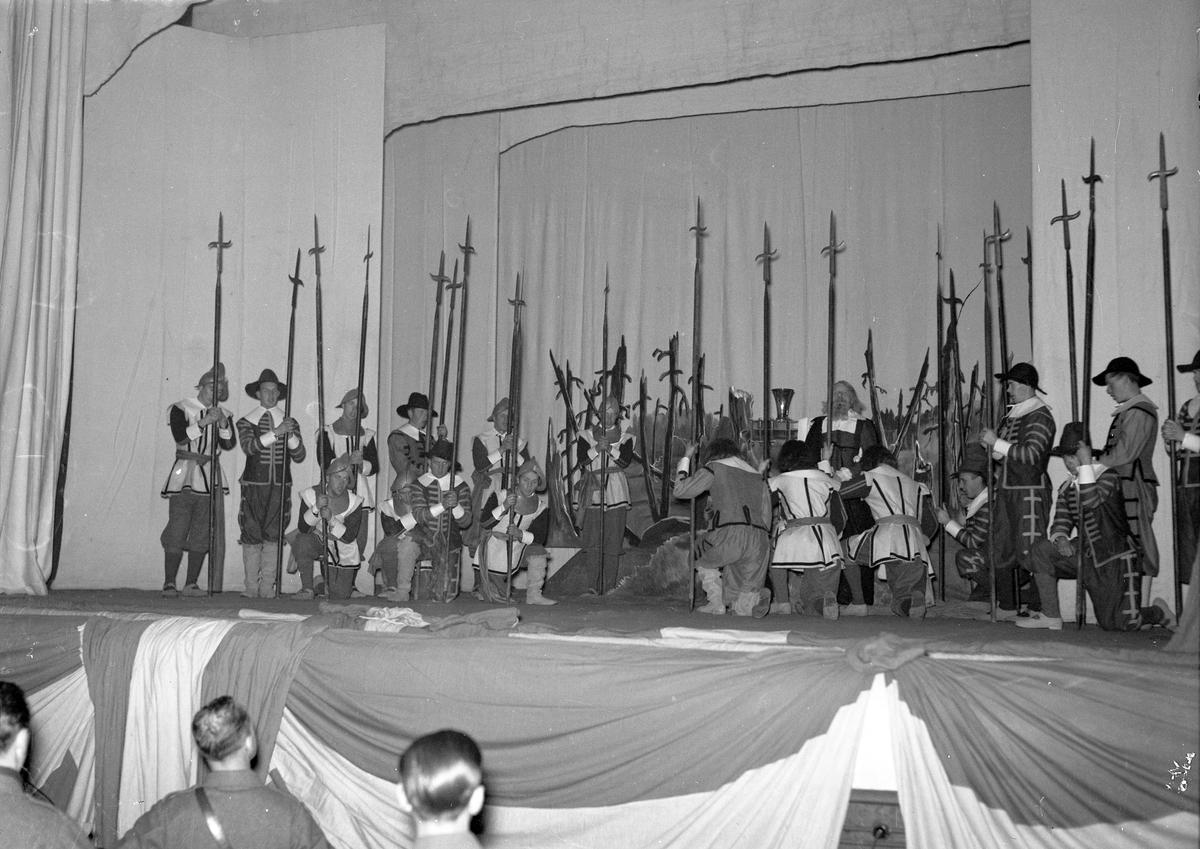 Krönikerspel, Gävle Teater. Den 26 november 1940.