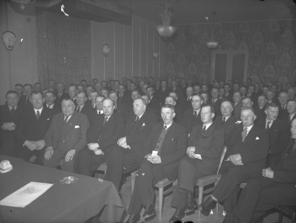 Gefle Ortsförbund. Taget på Baltic. April 1944