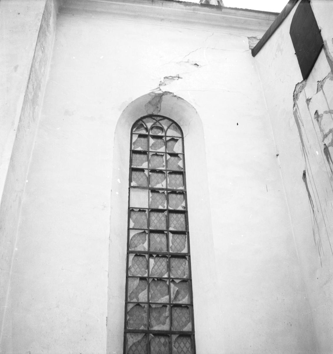 Heliga Trefaldighetskyrkan. Fönster. Augusti 1937