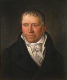 Portrett av Diderik von Cappelen. Mørk drakt, Hvit skjorte, vest og halsbind. (Foto/Photo)