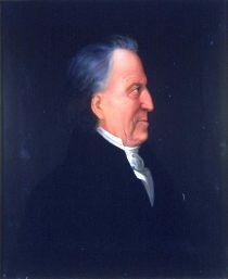 Portrett av Henrik Carstensen. Profil.