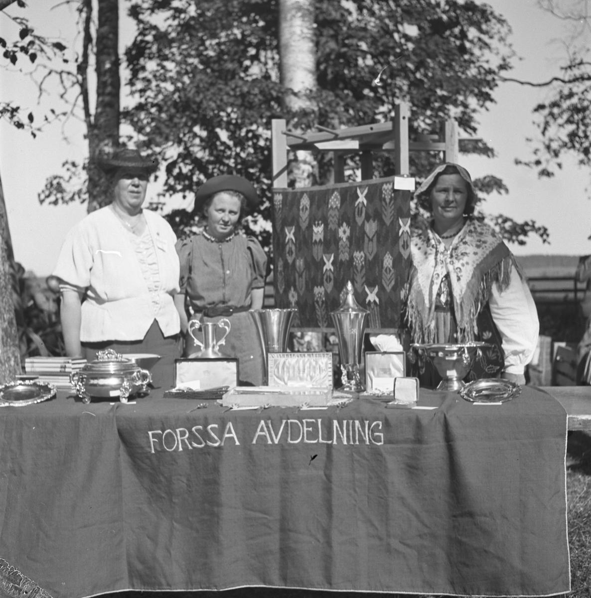 Bondeförbundet Årsstämma, Åby Gård. Bondeförbundets ordförande Axel Pehrsson-Bramstorp. Juni 1939 Forssa avdelning