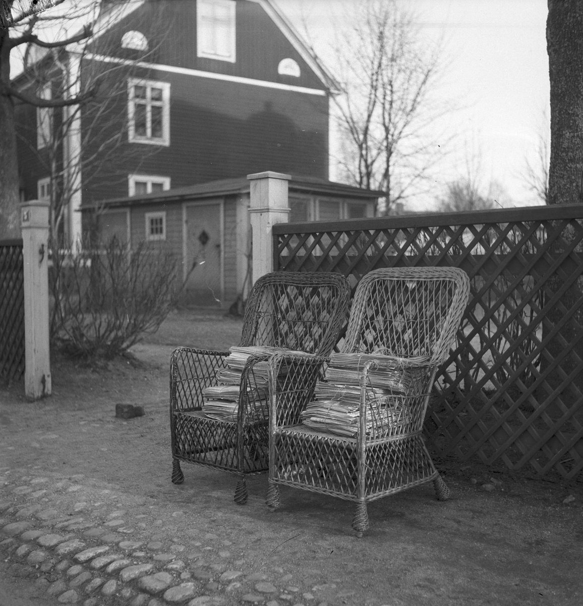 Vindsröjning  April 1939