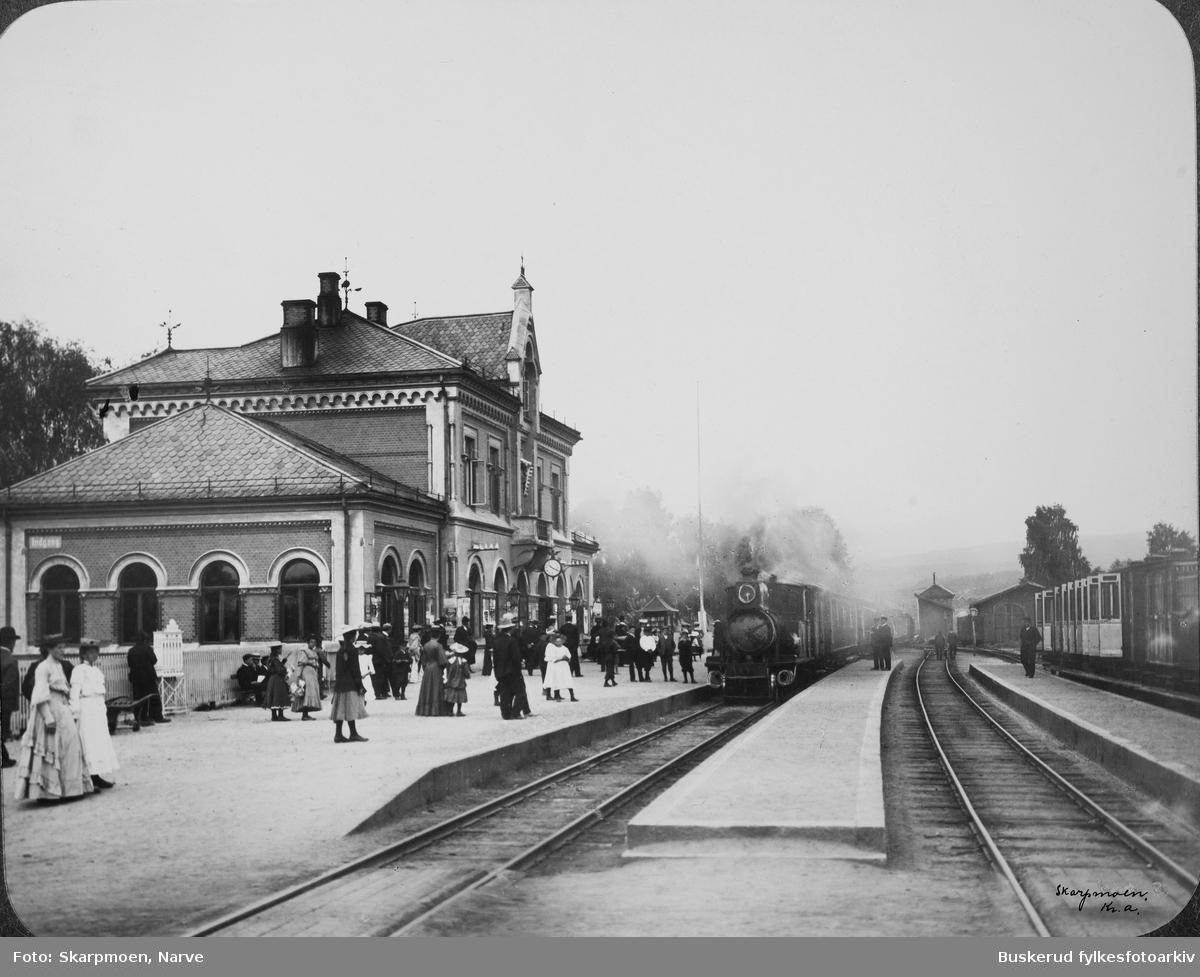 Hokksund stasjon er en jernbanestasjon som ligger i Hokksund og ble åpnet i 1866 da Randsfjordbanen sto ferdig.